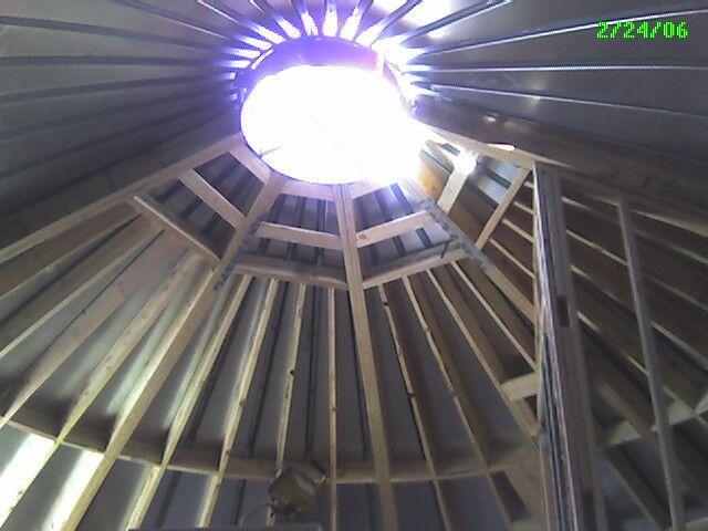salt lake architecture: rural grain silo home