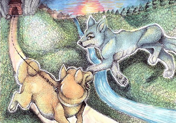 Moraleja de la fábula: El lobo y el perro flaco. No debes confiar en tu enemigo, ya que te puede engañar cuando no lo esperas. http://www.fabulasdeesopo.es/fabulas-de-animales/el-lobo-y-el-perro-flaco/