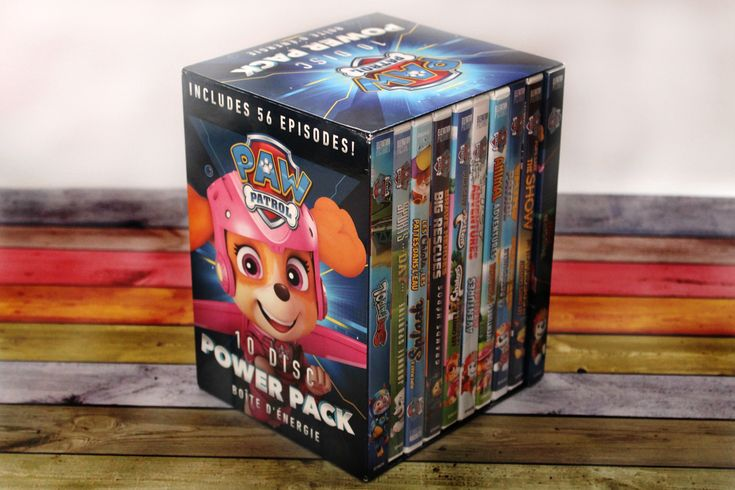 Are your kids huge PAW Patrol fans? Take a look at our review of the PAW Patrol 10-Disk Power Pack of DVDs to experience fun and adventure for the holidays!