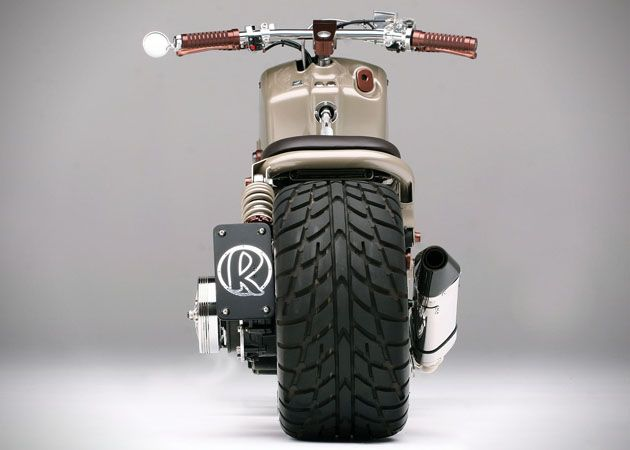 Honda Ruckus Custom LV Project 5