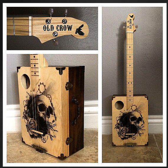 Cigar box guitar                                                                                                                                                                                 Mehr