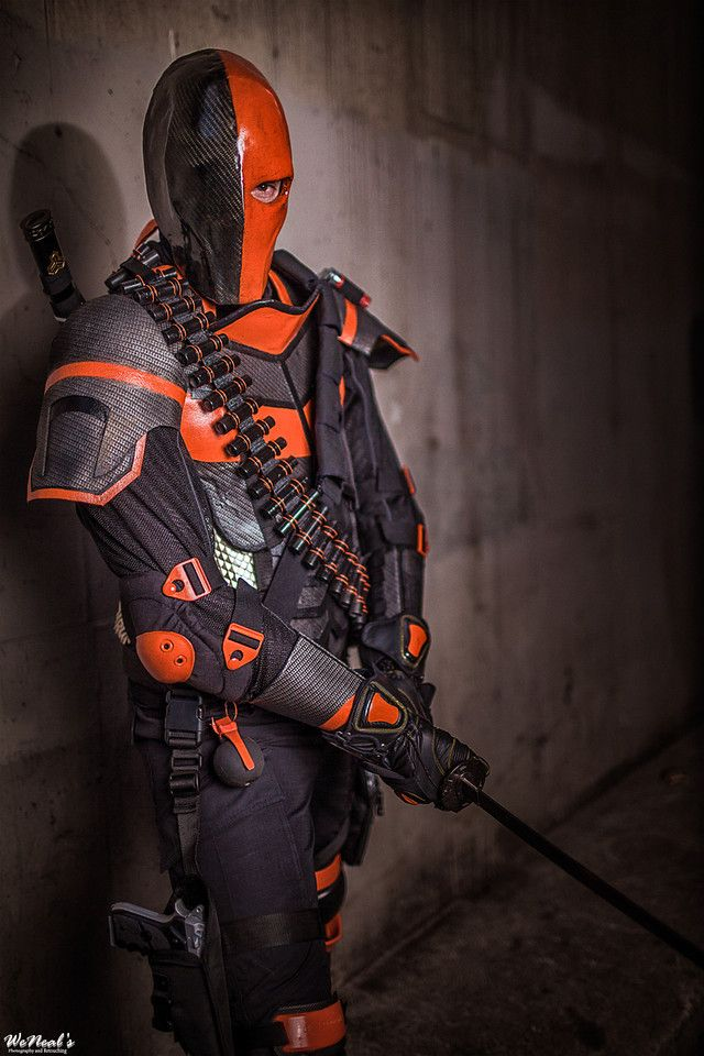 deathstroke arrow cosplay-#24