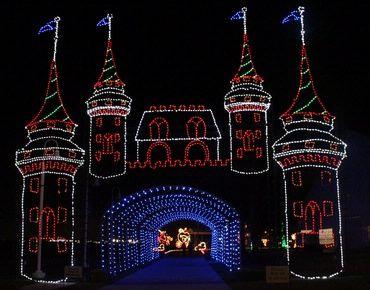 Festival of Lights Moody Gardens   Holiday Lights Galveston TX   Holiday Light Tour Celebrations & Events