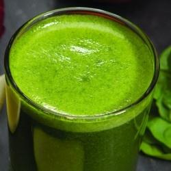 Salad In A Glass. Ingredients  1 beefsteak tomato  1 large cucumber peeled  1 stalk celery  1/2 green pepper  5 green lettuce leaves  dash vinegar