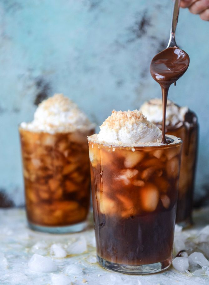 Cold Brew Coffee Soda Floats.