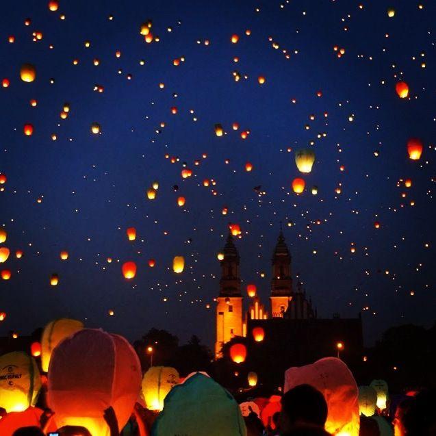 Lantern Festival, Poznan, Poland