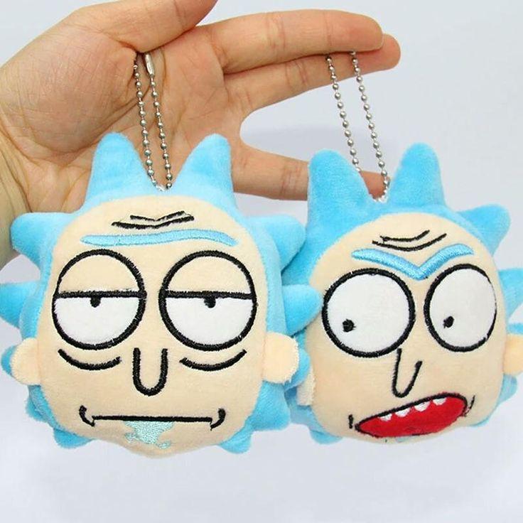 Rick stuffed heads