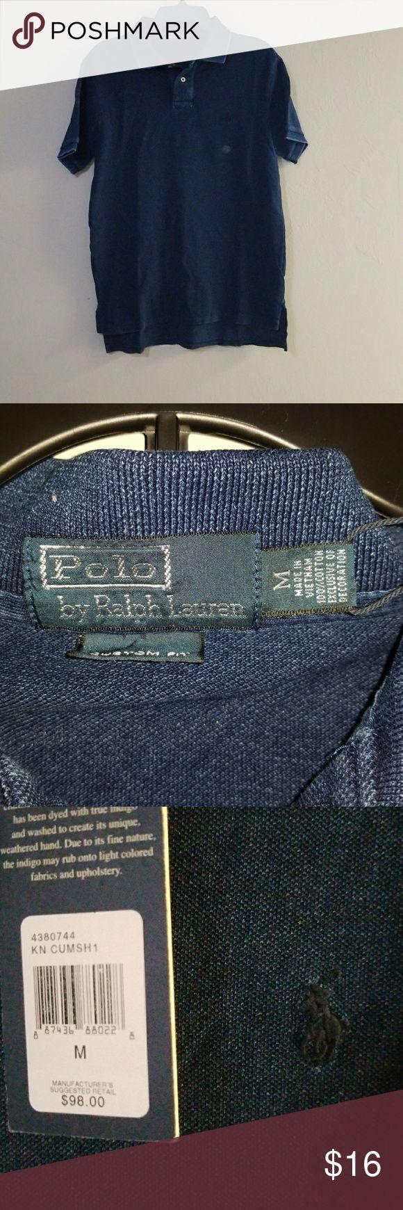 Men's Polo Ralph Lauren Polo shirt BNWT denim color Polo by Ralph Lauren Shirts Polos