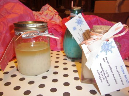 Sugar Scrub Gifts