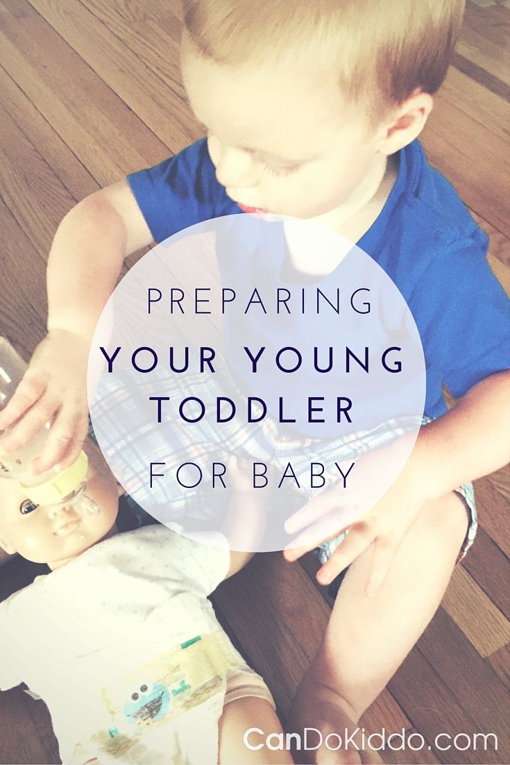 How to prepare a young toddler for a new baby - 25 tips for kids close in age. Perfect for those expecting 2 under 2. CanDoKiddo.com