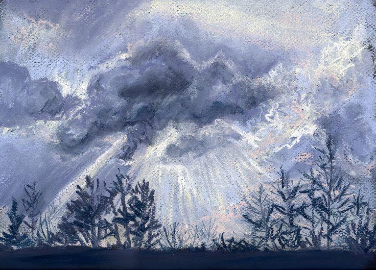 cloudsonblacksm | by honey and milk