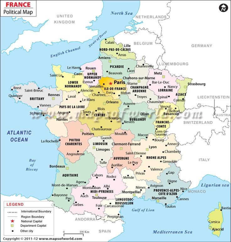 8 best places id like to go images on pinterest maps world maps 0e8b926f9ac8dcc63f6d458fd258081a france map france europeg gumiabroncs Choice Image