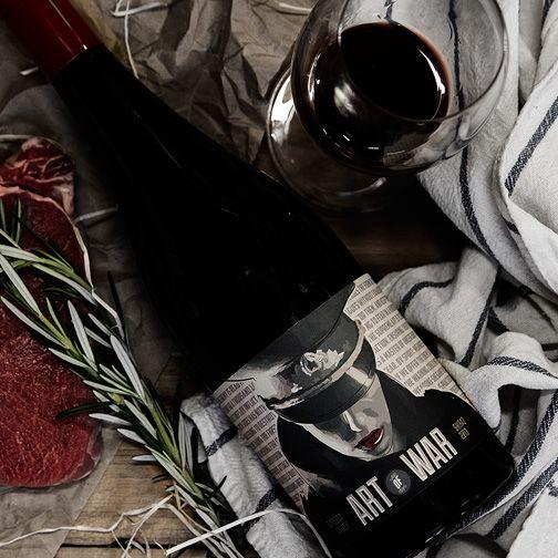 Art of War 2013 #wine #vinomofo #winephotography #foodandwine  #artofwar #design #food #recipe