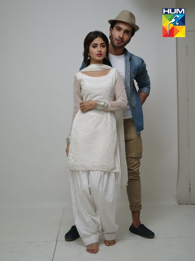 feroze khan with sajal ali Gul e Rana Photoshoot