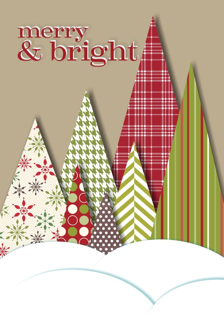 Paper Craft Christmas Card Ideas Part - 26: I Love This Idea With Craft Paper Or Wrapping Paper!Com For Thousands Of  Digital Scrapbook Freebies.