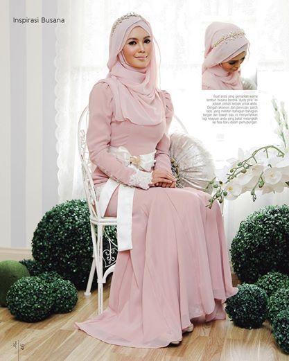 Pink #hijab #muslimbride #muslimwedding