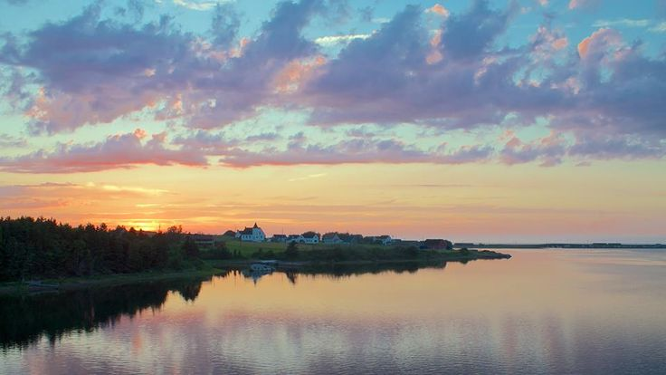 This photo of Margaree Harbour was sent to us by James Young! #capebreton #capebretonfavs #beaches #sunset  www.cbisland.com