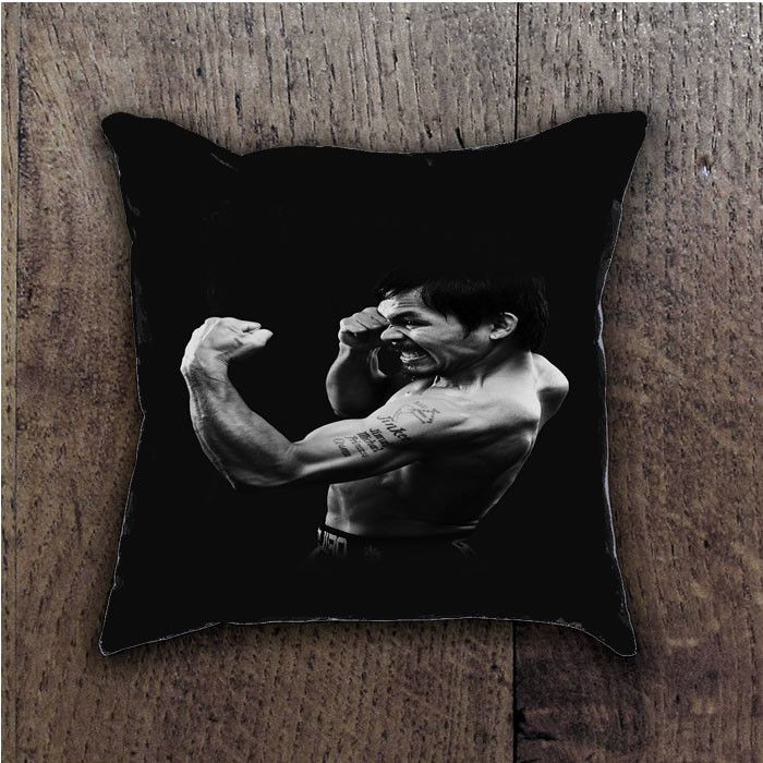 MANNY PACQUIAO DARK BOXING LEGEND- BATHROOM PILLOWS