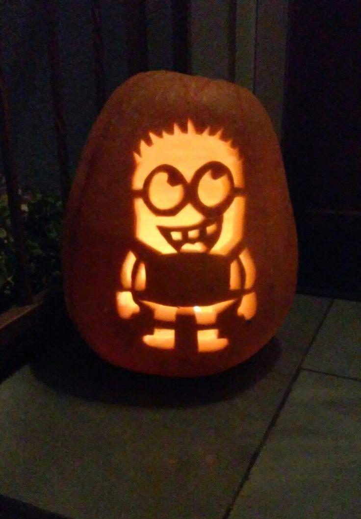 Our minion pumpkin  🎃🎃🎃
