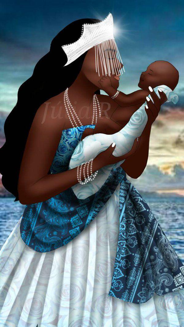Mãe Yemanja/Iemanja - see http://jumqwt74jagry7.deviantart.com/art/Me-Yemanja-655792439
