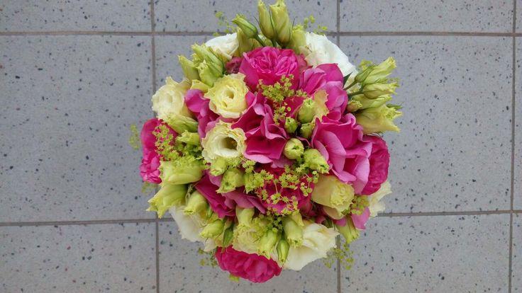Romantická malinová růžová
