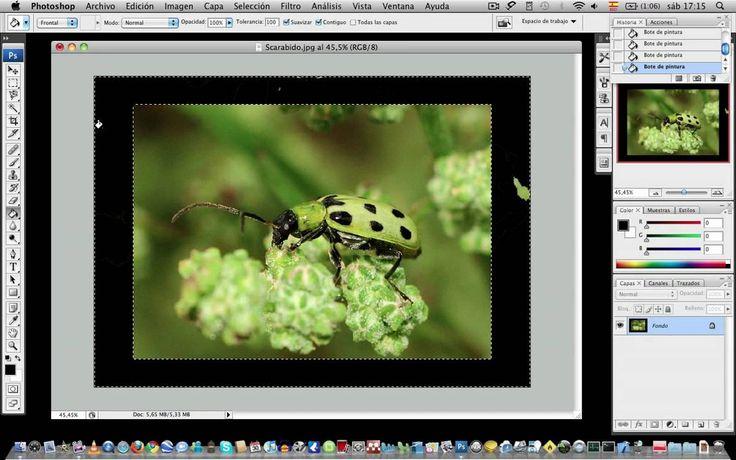 BioMaqueros - Crear diferentes tipos de marcos en Photoshop