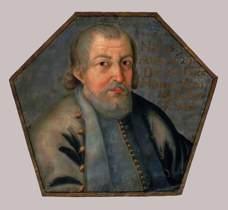 Coffin portrait of Andrzej Grylewicz (1629-1692), deputy mayor and treasurer of the city of Chełmno by Anonymous from Chełmno, ca. 1692 (PD-art/old), Muzeum Ziemi Chełmińskiej