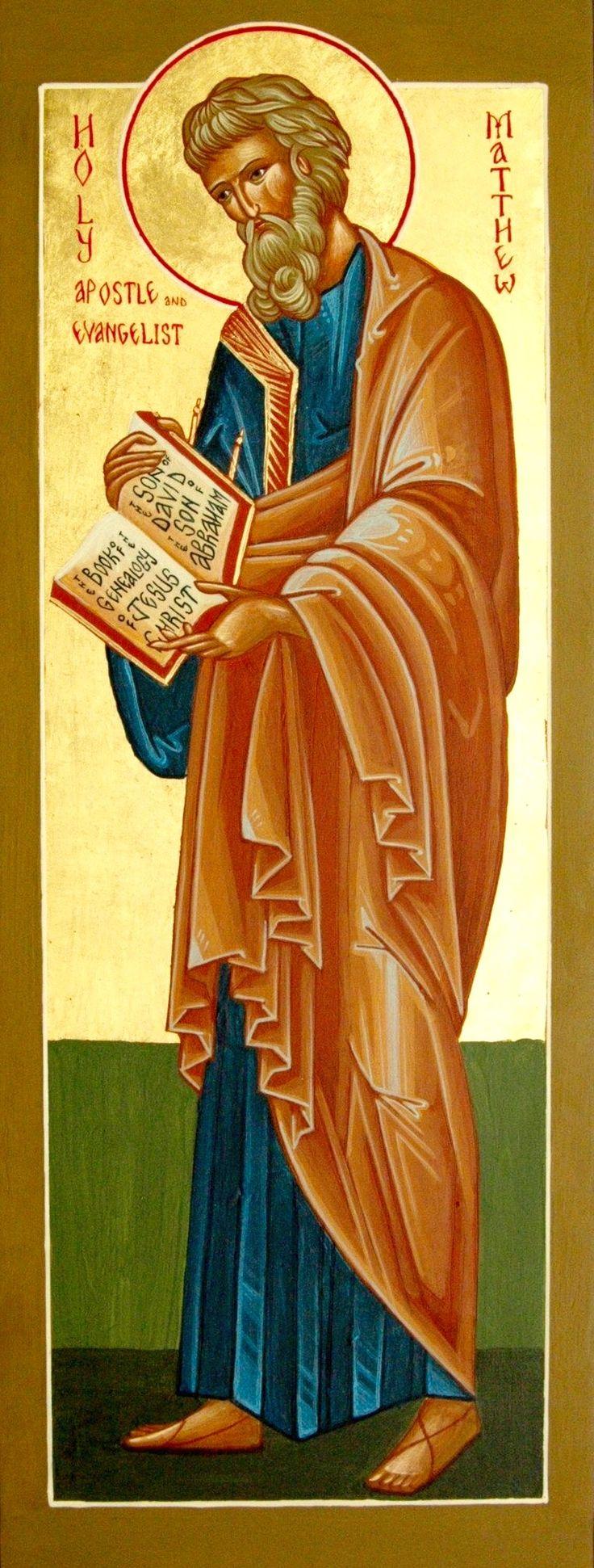 Άγ.Ματθαίος Απόστολος και Ευαγγελιστής.  _ nov 16