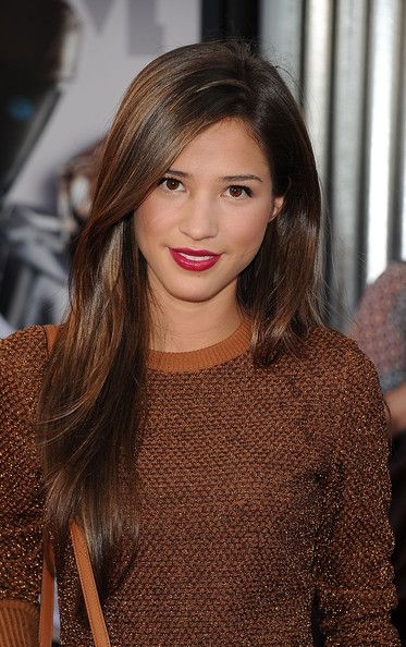 Kelsey Chow hair. Loving the colour