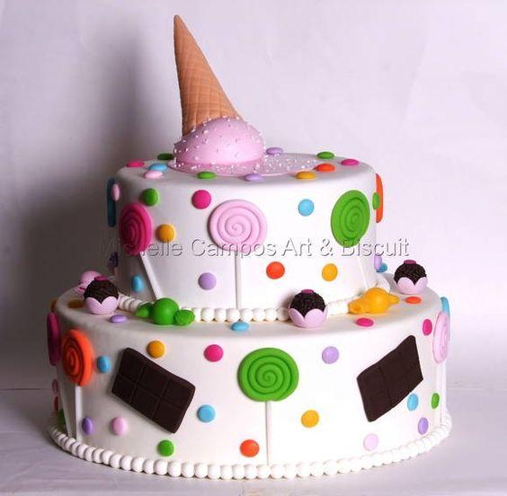 tarta en goma eva - Buscar con Google