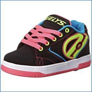 Propel Skate Shoe (Ni?o / Ni?o peque?o / Big Kid), Negro / Rojo, 5 M US Big Kid