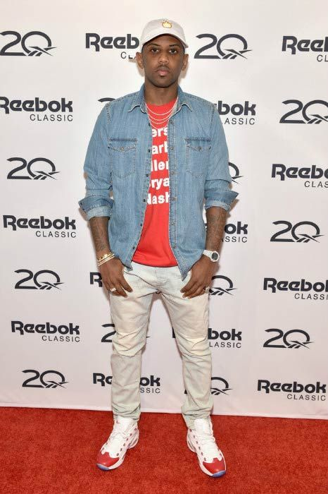 Rapper Fabolous at the Reebok X Packer Shoes launch party in September 2016...