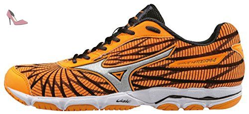 Mizuno Wave Hitogami 4 (w), Chaussures de Running Compétition Femme, Violet (Orange Pop/Silver/Dark Shadow), 42 EU - Chaussures mizuno (*Partner-Link)