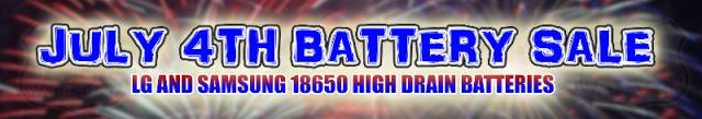 Vapor Joes - Daily Vaping Deals: BATTERY BLOWOUT: 101VAPE DROPS GREAT PRICES