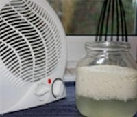 Using a small electric heater helps quicken the cultivating process. This method is great if you can't seem to achieve separation at room temperature. Where to buy kefir grains (milk & water grains), and access a complete video course on how to harvest kefir. Just go to the site at the bottom to get the info you need.  www.howtomakekefirathome.info