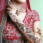 Indian Dulhan Mehndi Designs 1
