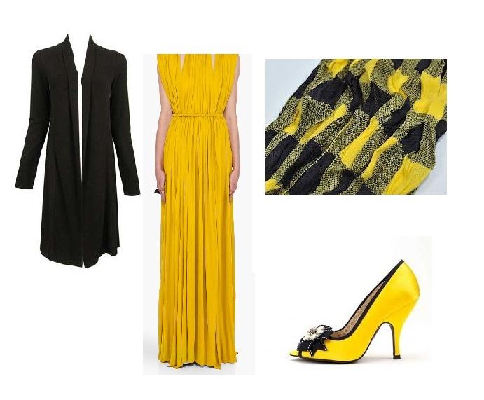 blackish yellow