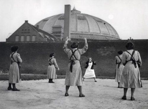 Breda - Vrouwelijke gevangenen - 1954.