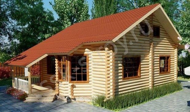Проекты домов до 100 м2 - небольшие дома, маленькие домики, дешевые, готовые, типовые, современные, проекты на заказ