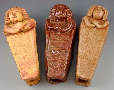 Clay Mummy Time Capsules
