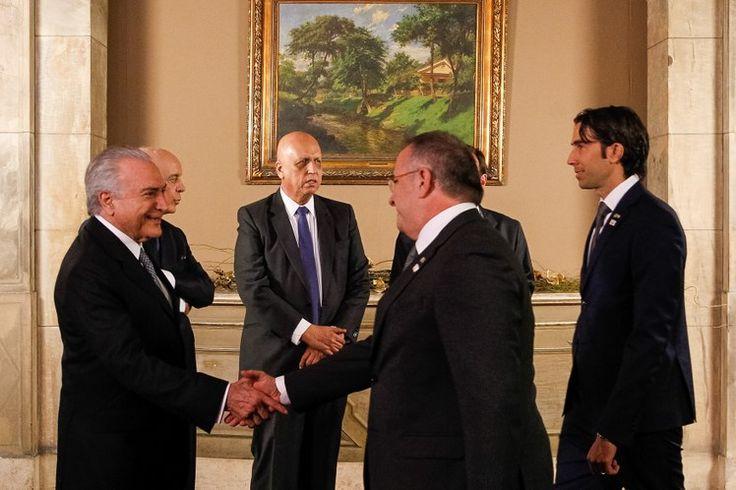 Recepção oferecida aos chefes de estado e de governo pelo Senhor Presidente da República em exercício Michel Temer, por…