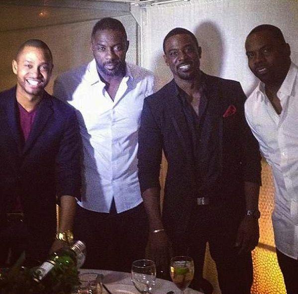 Terrence J & Idris Elba Dine, Keyshia Cole Backstage, Fergie Chills w/ Oprah + More Celeb Stalking