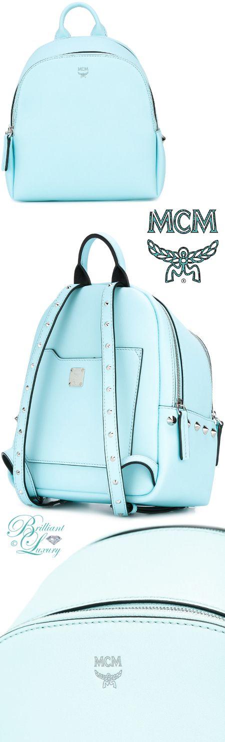 Brilliant Luxury ♦ MCM Studded Mini Backpack