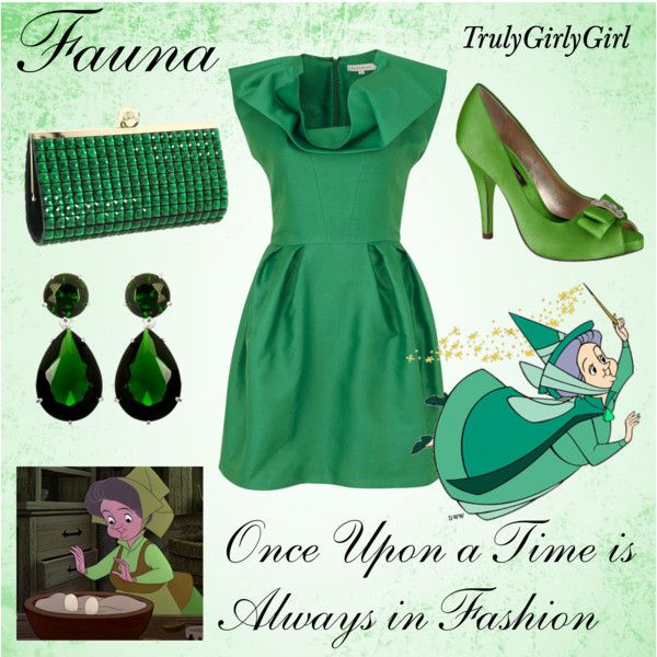 Disney Style: Fauna, created by trulygirlygirl on Polyvore