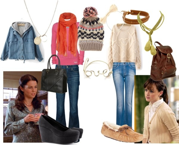 """""""Gilmore Girls Outfit"""" by seaturtle10 ❤ liked on Polyvore"""