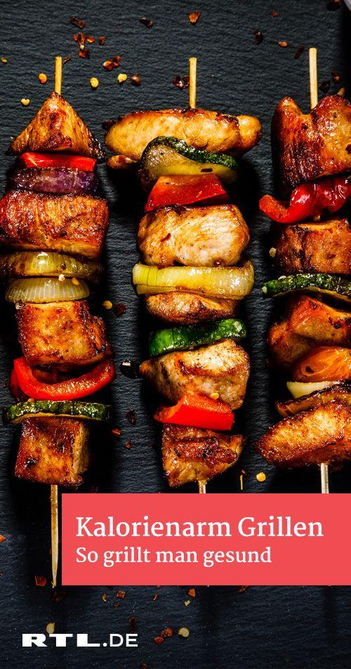 Kalorienarm grillen: Rezepte für einen gesunden Grillabend