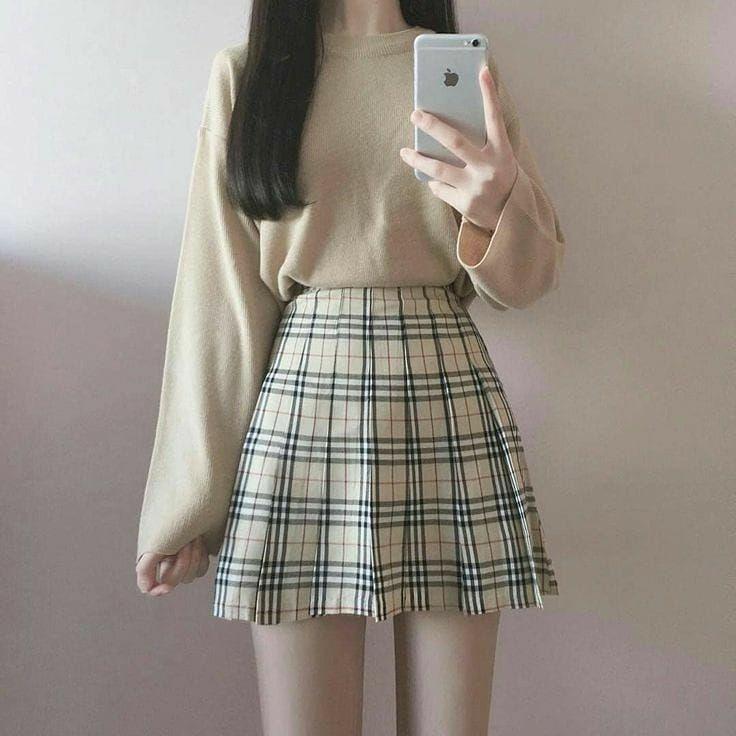 Girl Classic Wear Inspire Style Autumn 2021 Sweet Korean Amazon Instagram College Kawaii Fashion Outfits Ulzzang Fashion Edgy Outfits