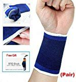Buy 1 Get 1 Free: Wrist Brace Elastic Muscle Support Compression Sleeve Sport Arthritis Pain Relief