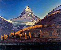 Гора Ассинибойн. Канадские скалистые горы