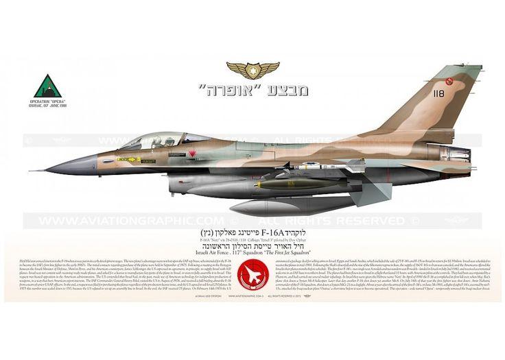 "F-16A ""Netz"" 118 ✡ IAF Operation ""Opera"" JP-2022SP"